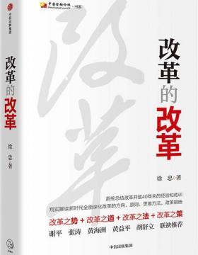 改革的改革 系统总结改革开放40年来的经验和教训 PDF电子书下载