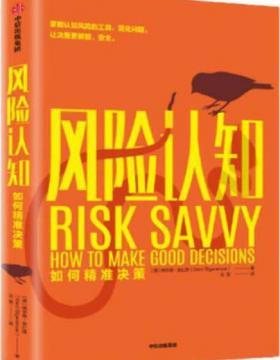 风险认知:如何精准决策 慧眼看PDF电子书