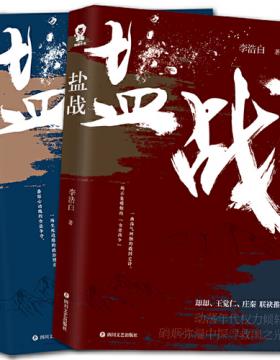 盐战 完结珍藏版套装(全2册)媲美《北平无战事》的民国谍战小说 慧眼看PDF电子书