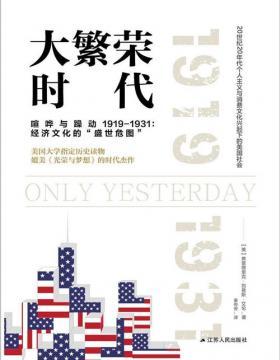 大繁荣时代 描述一战后美国大崛起的黄金十年 重现美国社会的发展史
