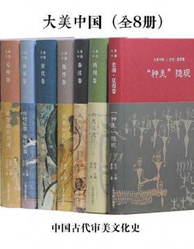 大美中国·中国古代审美文化史 套装全8册 (上海古籍出品)  慧眼看PDF电子书