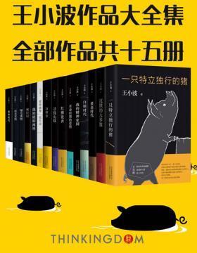 王小波真正大全集(15册)王小波是书店里永不消失的风景!读过这套,才算完整读过王小波