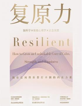 复原力 直面逆境收获幸福的方法 积极心理学与脑科学、正念冥想的结合