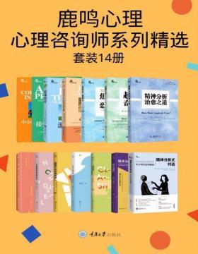 鹿鸣心理·心理咨询师系列精选(套装14册)心理学从业、研究、考研必读! 精神疾病患者及家人的指南!