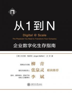 从1到N:企业数字化生存指南 来自麦肯锡团队的企业数字化指南