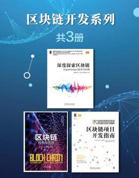 区块链开发系列(共3册)深度探索区块链、区块链技术与应用、区块链项目开发指南