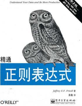 精通正则表达式(第3版)-扫描版-PDF电子书-下载