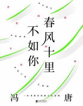 春风十里不如你:一本书读尽冯唐人生金线 PDF电子书下载