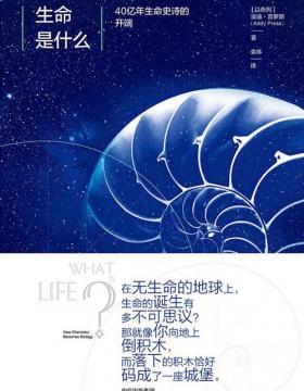 生命是什么:40亿年生命史诗的开端 革新薛定谔同名经典 慧眼看PDF电子书