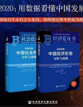 2020:用数据看懂中国发展 经济蓝皮书+社会蓝皮书 慧眼看PDF电子书
