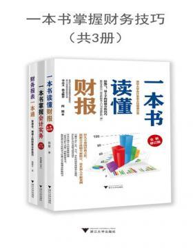 一本书掌握财务技巧(套装共3册)一套零基础初学者也能看得懂的财务书  一本书读懂财报+一本书掌握会计实务+财务报表一本通